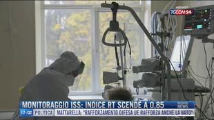 Breaking News delle 17.00 | Monitoraggio Iss: l'indice rt scende a 0,85