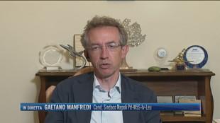 """Elezioni a Napoli, Gaetano Manfredi: """"Ridurre il debito della città"""""""