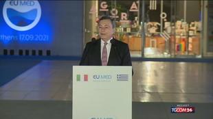 """Draghi: """"Sull'energia la Ue sia acquirente come per vaccini"""""""
