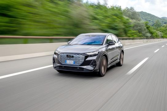 Ecco Audi Q4 Sportback e-tron