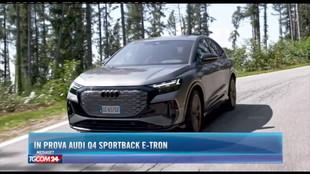 In prova Audi Q4 Sportback e-tron