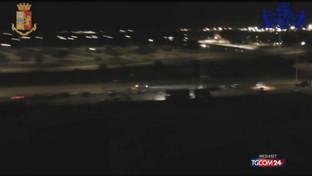 Cagliari, maxi blitz della polizia sulle corse clandestine