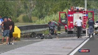 Incidente Frosinone, morti tre motociclisti