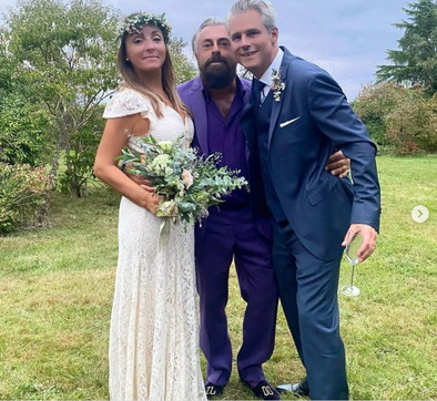 Camila Raznovich ha detto sì: guarda il matrimonio country in Normandia