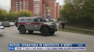 Breaking News delle 11.00 | Russia, sparatoria in università: 8 morti