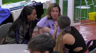 """Soleil Sorge in lacrime al """"GF Vip"""": """"Vorrei una famiglia numerosa"""""""