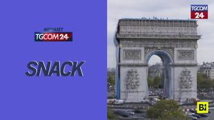 """""""Impacchettato"""" l'Arco di trionfo: a Parigi l'ultimo progetto di Christo"""