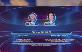 """""""GF Vip"""", Davide Silvestri e Tommaso Eletti vanno in nomination"""