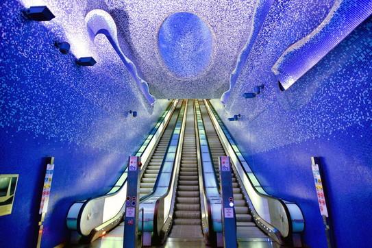 Metropolitana: da tutto il mondo, le stazioni capolavoro