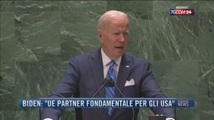 """Breaking News delle 23.00   Biden: """"Ue partner fondamentale per gli Usa"""""""