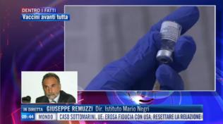 """Remuzzi a Tgcom24: """"Cura con monoclonali importante ma delicata"""""""