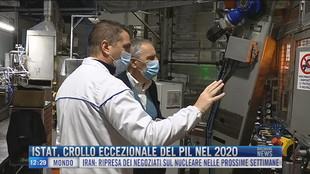 Breaking News delle 12.00 | Istat, crollo eccezionale del Pil nel 2020
