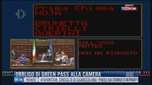 Breaking News delle 09.00 | Obbligo di green pass alla Camera
