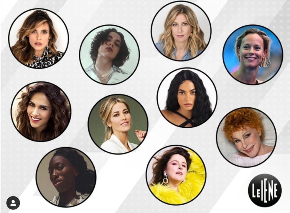 """Dieci donne per """"Le Iene"""""""