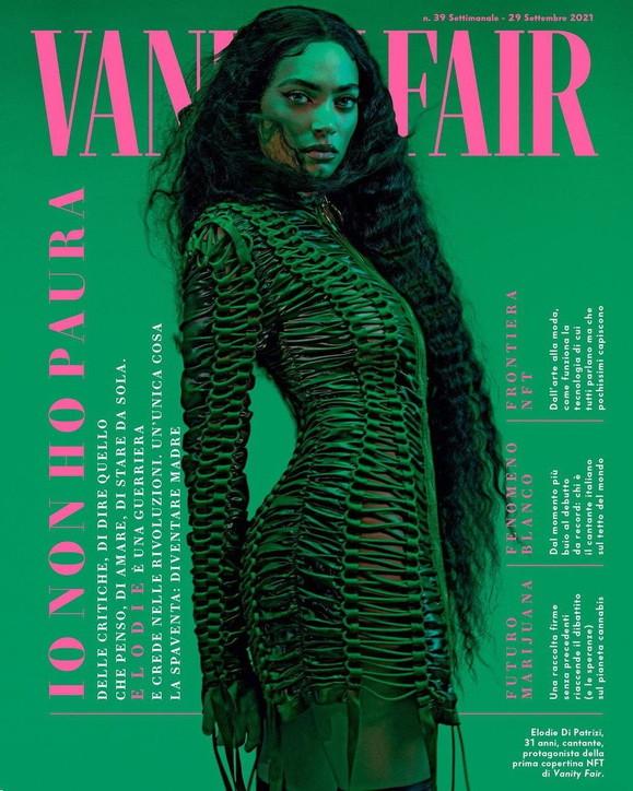 """Elodie è una """"VanityQueen"""" da copertina per le donne afghane"""