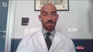 """Vaccini, Bassetti: """"Nessuna frenata, con gli scettici è dura. Serve il porta a porta"""""""