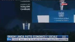 Breaking News delle 17.00 | Draghi lancia patto economico e sociale