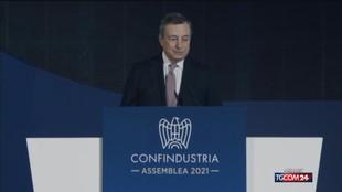 """Draghi: """"Il governo non ha intenzione di alzare le tasse"""""""