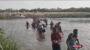 Migranti, ai confini col Texas situazione drammatica