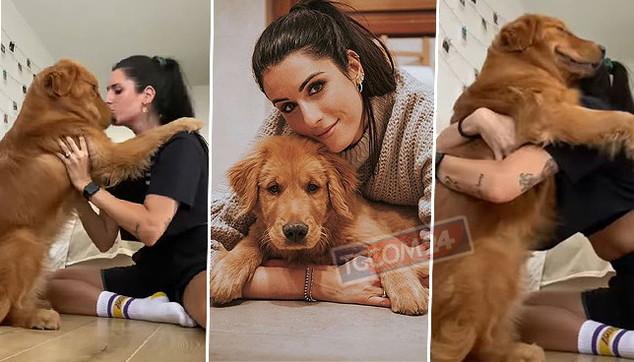Valentina Vignali in panico: ladri in casa a Roma e cane sparito, poi il lieto fine
