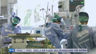 Breaking News delle 14.00 | Covid, ISS: calano RT e incidenza