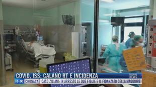 Breaking News delle 16.00 | Covid, Iss: calano rt e incidenza