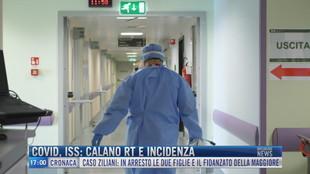 Breaking News delle 17.00 | Covid, Iss: calano rt e incidenza