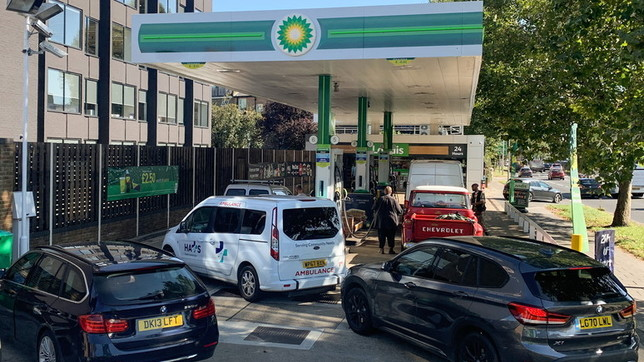 Gb, code ai distributori per fare benzina