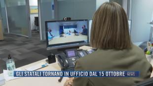 Breaking News delle 21.30 |  Gli statali tornano in ufficio dal 15 ottobre