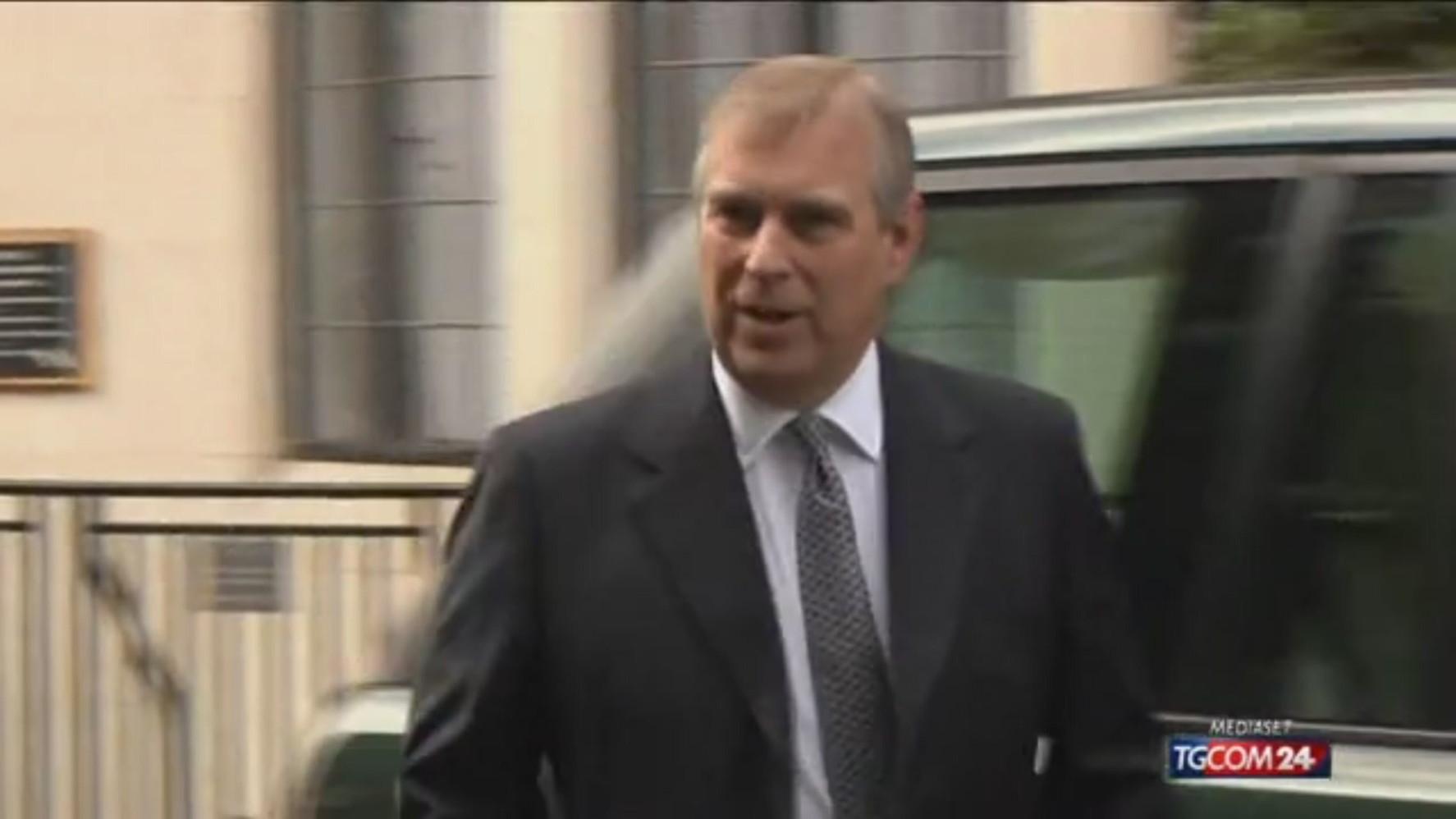 Caso Epstein: legali principe Andrea accettano notifica causa in Usa