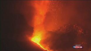 Isola di La Palma, l'eruzione del vulcano non si ferma