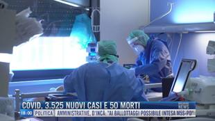 Breaking News delle 18.00 | Covid, 3525 nuovi casi e 50 morti
