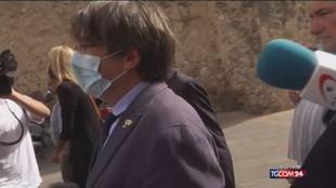 """Puigdemont: """"Abituato a essere perseguitato dalla Spagna"""""""