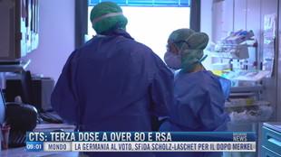 Breaking News delle 09.00 | Cts: terza dose a over 80 e rsa