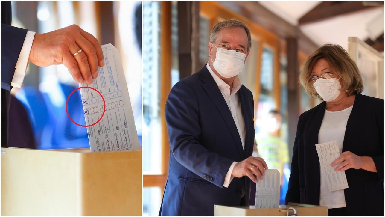 Germania, la gaffe del candidato cancelliere: piega male la scheda e si vede il suo voto