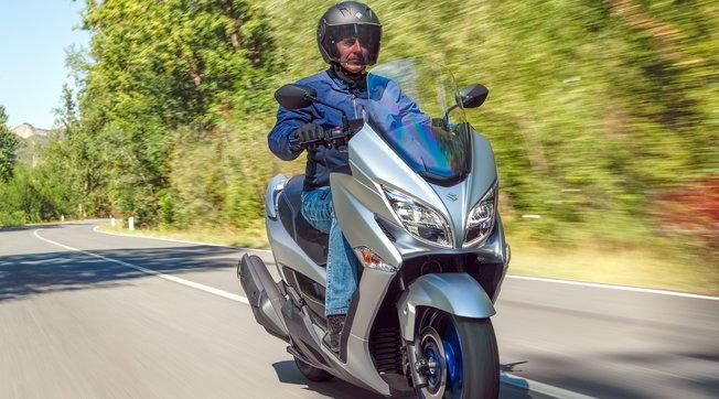 Suzuki Burgman 400 Modello 2022