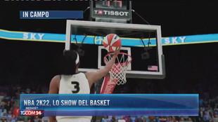 NBA 2k22, lo show del basket