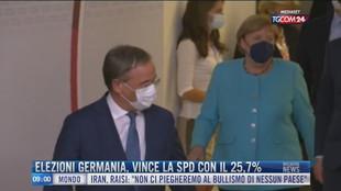 Breaking News delle 09.00 | Elezioni Germania, vince la Spd con il 25,7%