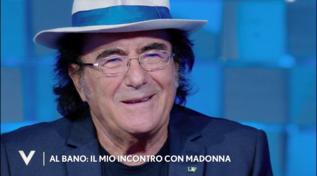 """Al Bano ricorda l'incontro con Madonna: """"Le ho cantato l'Ave Maria"""""""