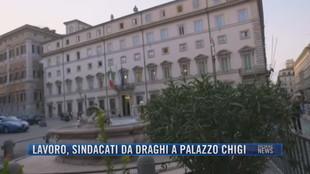 Breaking News delle 21.30 | Lavoro, sindacati da Draghi a Palazzo Chigi