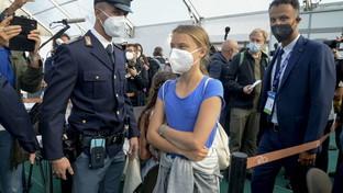"Clima,Greta Thunberga Milano per la ""Youth4Climate"""