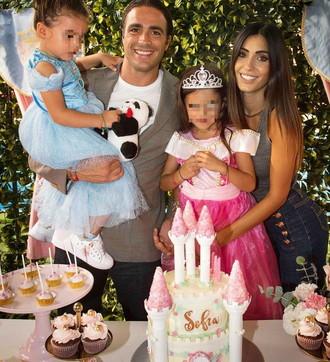 Federica Nargi e Alessandro Matri festeggiano il compleanno della loro principessa