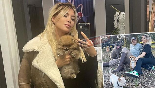 Wanda Nara allarga la famiglia ma chiede aiuto per il suo cucciolo