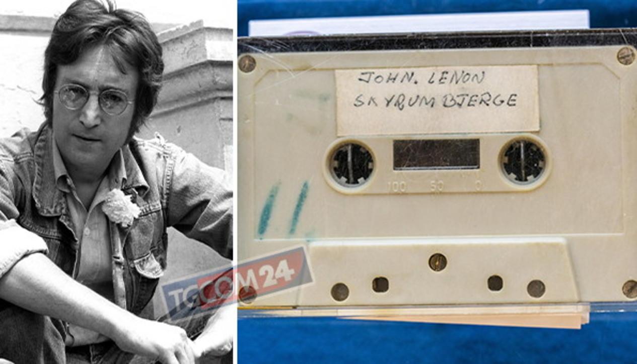 John Lennon, un brano inedito all'asta in Danimarca
