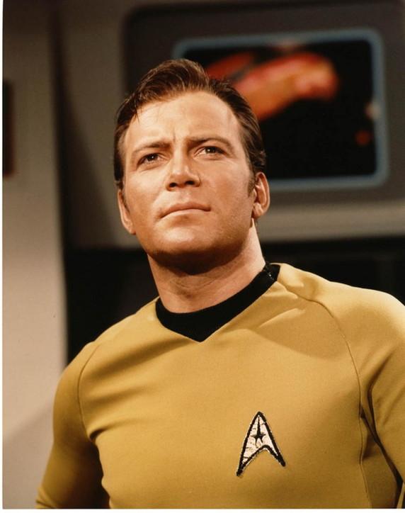 "William Shatner, il Capitano Kirkdi ""Star Trek"""