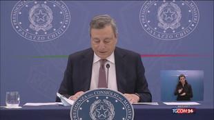 """Draghi: """"Da governo manovra espansiva per la crescita"""""""