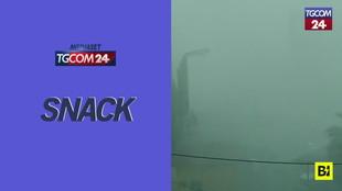 Tornado e violento temporale a Catania: danni e feriti