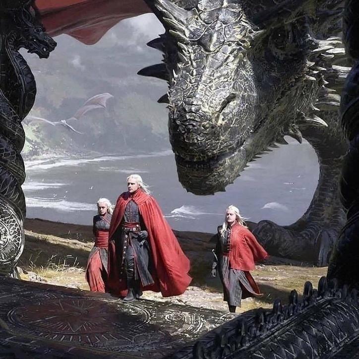 """Le prime foto di""""House of the dragon"""""""