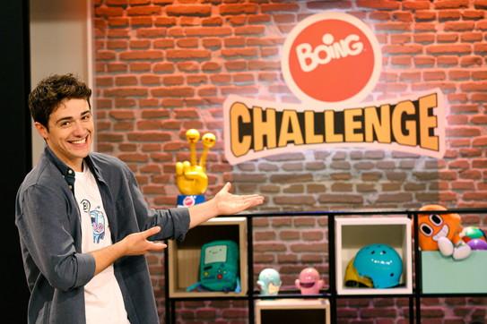 """Seconda edizione""""Boing Challenge"""" condotto da Tommaso Cassissa"""