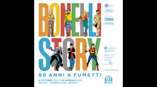 """""""Bonelli Story 80 anni a fumetti"""": la mostra dedicata allo storico editore"""